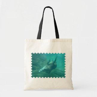 Sacola dos leões de mar bolsa para compra