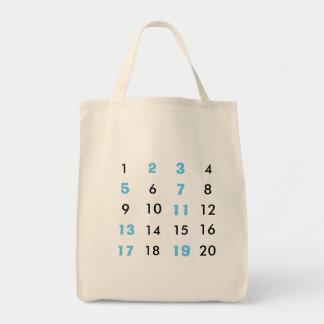Sacola dos Maths das horas de máxima audiência Sacola Tote De Mercado