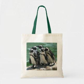 Sacola dos pinguins sacola tote budget