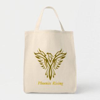 Sacola dourada da ascensão de Phoenix Sacola Tote De Mercado
