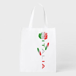 Sacola Ecológica A bandeira de Italia aumentou
