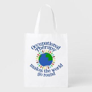Sacola Ecológica A terapia ocupacional faz o mundo ir circularmente