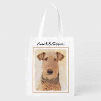 Sacola Ecológica Airedale Terrier