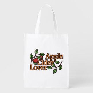 Sacola Ecológica Amante da sidra de maçã