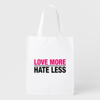 Sacola Ecológica Ame mais ódio menos