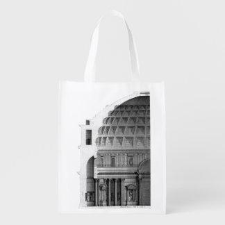 Sacola Ecológica Arquitetura clássica do panteão romano