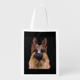 SACOLA ECOLÓGICA ARTE DO GERMAN SHEPHERD