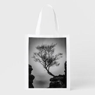 Sacola Ecológica Árvore em um penhasco
