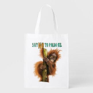 Sacola Ecológica As bolsas de compra reusáveis feitas sob encomenda