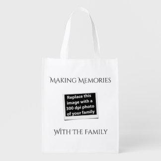 Sacola Ecológica As memórias do fazer com a família adicionam sua