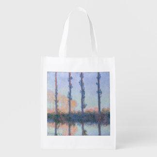 Sacola Ecológica As quatro árvores por Claude Monet