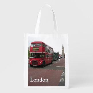 Sacola Ecológica Autocarro de dois andares de Londres