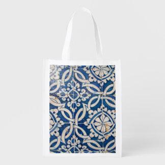 Sacola Ecológica Azulejo do português do vintage