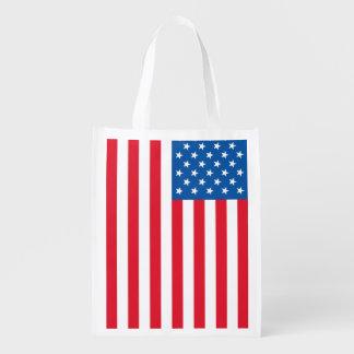 Sacola Ecológica Bandeira dos Estados Unidos da bandeira dos EUA