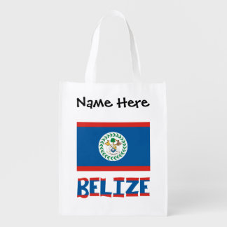 Sacola Ecológica Bandeira e Belize belizences com nome
