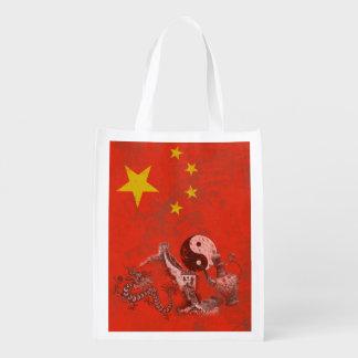 Sacola Ecológica Bandeira e símbolos de China ID158