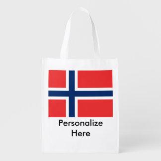 Sacola Ecológica Bandeiras norueguesas
