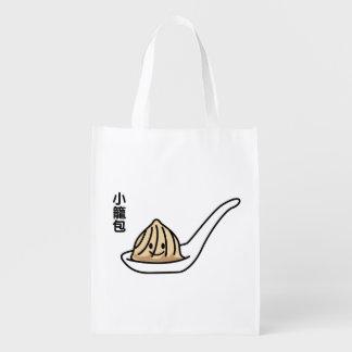 Sacola Ecológica Bolo chinês de Dim Sum da bolinha de massa da sopa