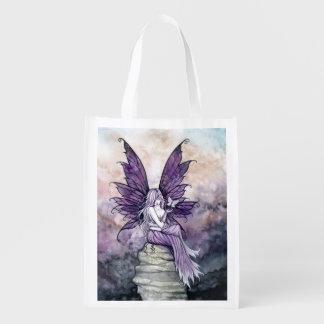 Sacola Ecológica Borboleta e saco de compras da arte da fantasia da
