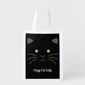 Sacola Ecológica Cara do gatinho