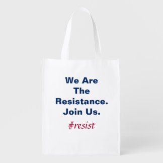 Sacola Ecológica Democracia do apoio nós somos a resistência