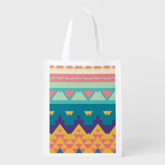 Sacola Ecológica Design tribal Pastel