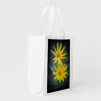 Sacola Ecológica Duas flores amarelas do tupinambo