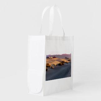 Sacola Ecológica Dunas de areia lisas o Vale da Morte do Mesquite