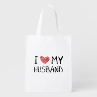 Sacola Ecológica Eu amo meu marido