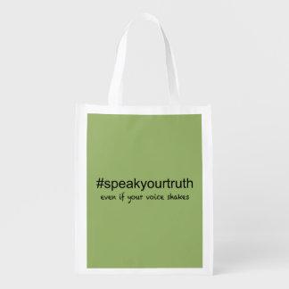 Sacola Ecológica Fale sua verdade