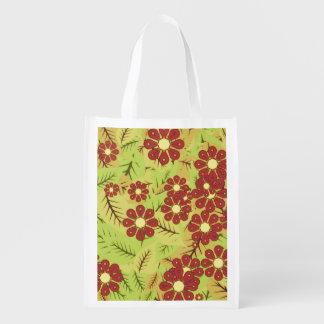 Sacola Ecológica Folha e flores