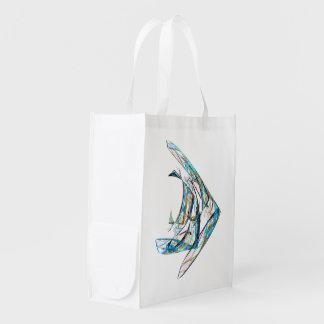 Sacola Ecológica Fractal - Angelfish