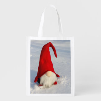 Sacola Ecológica Gnomo escandinavo do Natal