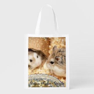 Sacola Ecológica Hammyville - hamster bonito