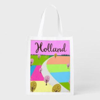 Sacola Ecológica Holland coloca o poster de viagens