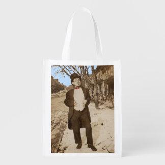 Sacola Ecológica homem novo elegante da foto vernáculo do 1920