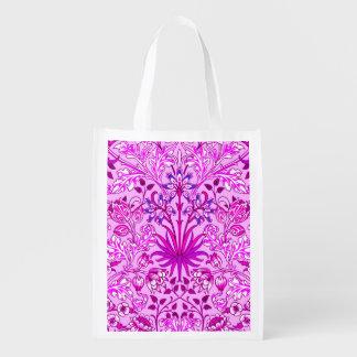 Sacola Ecológica Impressão, lavanda e violeta do jacinto de William