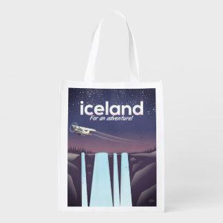 """Sacola Ecológica Islândia """"para uma aventura! """""""