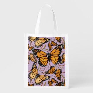 Sacola Ecológica Loucura da borboleta de monarca