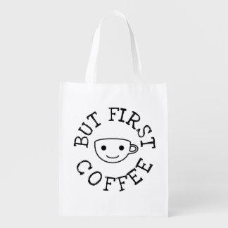 Sacola Ecológica Mas primeiro café