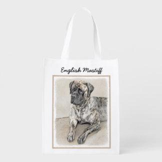 Sacola Ecológica Mastiff inglês (rajado)