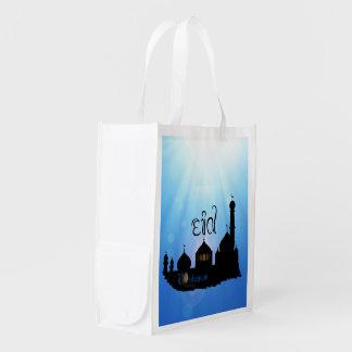 Sacola Ecológica Mesquita com Sunrays - saco reusável de Eid