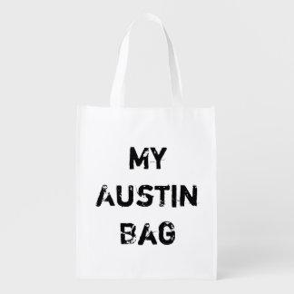 Sacola Ecológica Meu mantimento reusável de Austin TX nenhuma
