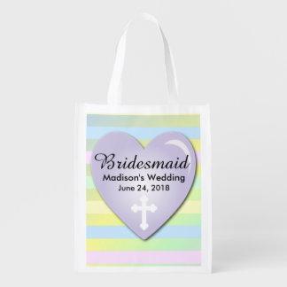 Sacola Ecológica Modelo da sacola da dama de honra, casamento