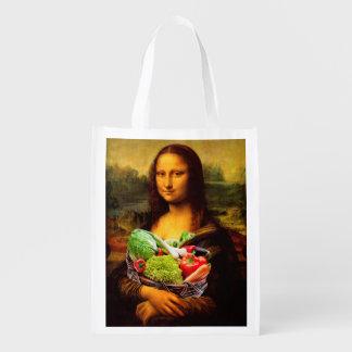 Sacola Ecológica Mona Lisa ama vegetais