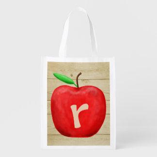 Sacola Ecológica Monograma vermelho de Apple