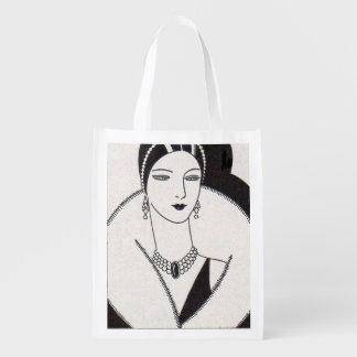 Sacola Ecológica mulher 1928 do art deco
