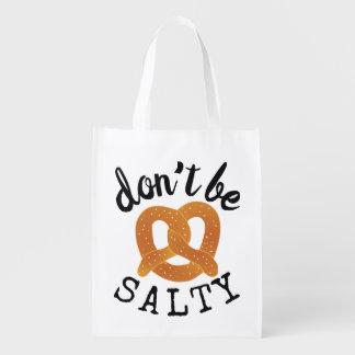Sacola Ecológica Não seja chalaça engraçada salgado do pretzel