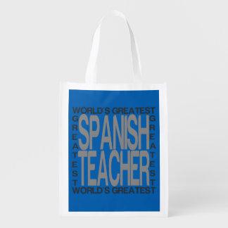 Sacola Ecológica O grande professor espanhol dos mundos