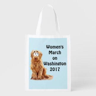 Sacola Ecológica O março das mulheres em Washington 2017
